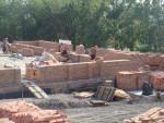 Растут стены новой Мечети