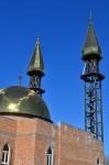 Заиграли золотом купола минаретов Пензенской Соборной мечети