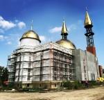 Продолжаются работы по строительству Пензенской Соборной Мечети!